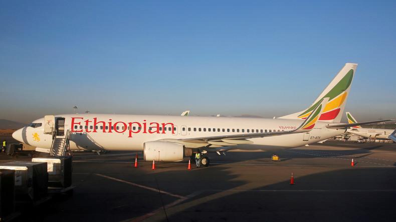 Flugzeug der Ethiopian Airlines abgestürzt