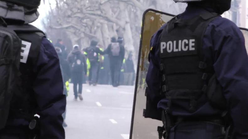 Frankreich: Erneute Zusammenstöße zwischen Gelbwesten und Polizei