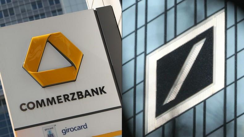 """Deutsche Bank lotet """"inoffiziell"""" Fusion mit Commerzbank aus"""