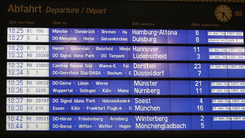 Deutsche Bahn: Sturmtief führt zu Störungen