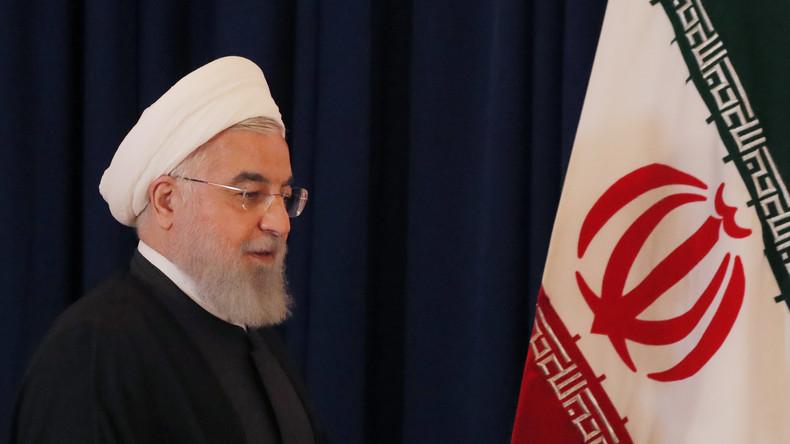 Irans Präsident Rohani startet ersten Staatsbesuch im Irak