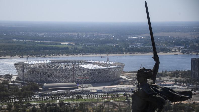 Fußballfans wählen Wolgograd-Arena zu bestem Stadion des Jahres 2018