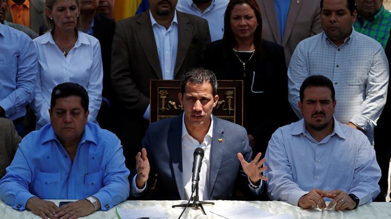 Venezuela: Selbsternannter Präsident Guaidó fordert offen ausländische Militärintervention (Video)