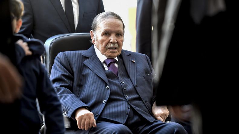 Wahlverschiebung in Algerien: Bouteflika verzichtet auf Kandidatur, Premierminister tritt zurück