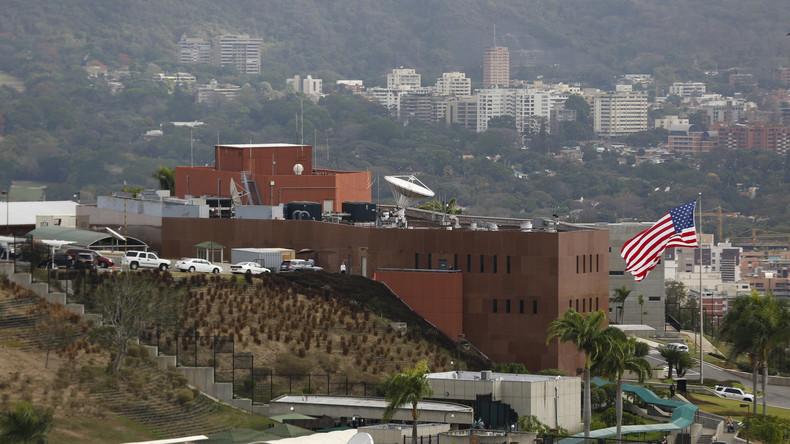 USA ziehen restliche US-Diplomaten aus Venezuela ab
