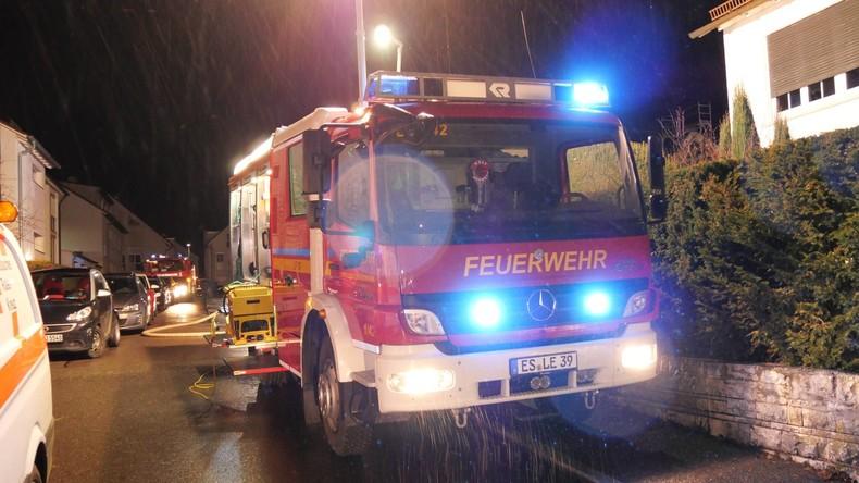 Baden-Württemberg: Zwei Menschen sterben bei Wohnhausbrand