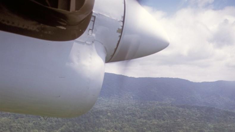 Flugzeug mit Drogen an Bord explodiert in Ecuador