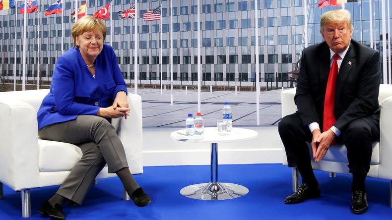 Sanktionen gegen Nord Stream 2: USA erhöhen Druck auf Bundesregierung