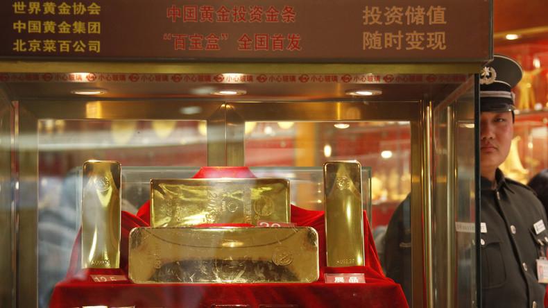 Fernöstliche Anti-Dollar-Strategie: China hortet weiter Gold