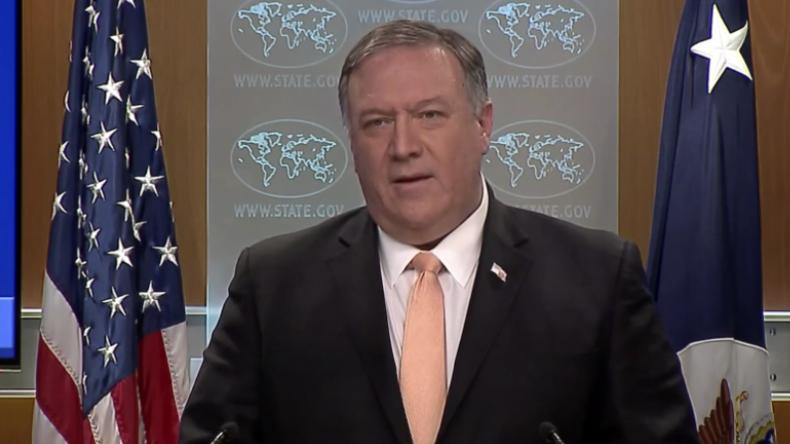 Wer auch sonst? US-Außenminister Pompeo meint, Russland ist schuld an Krise in Venezuela