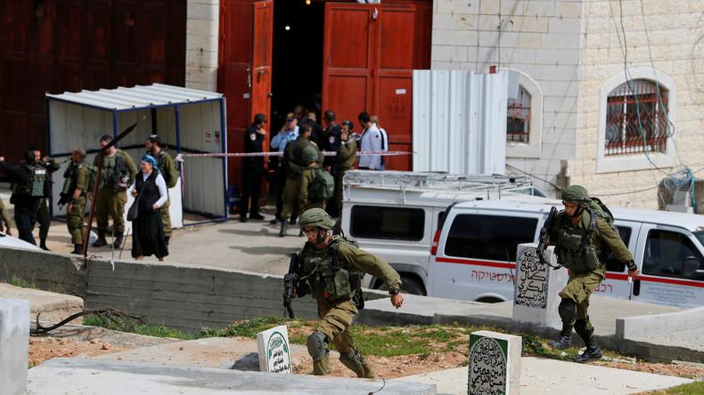 Palästinensischer Messer-Attentäter in Hebron erschossen