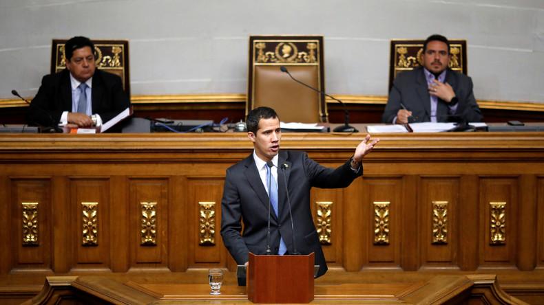 Venezuela: Nationalversammlung billigt Guaidós Notstandsplan - Militär bleibt auf Seiten Maduros