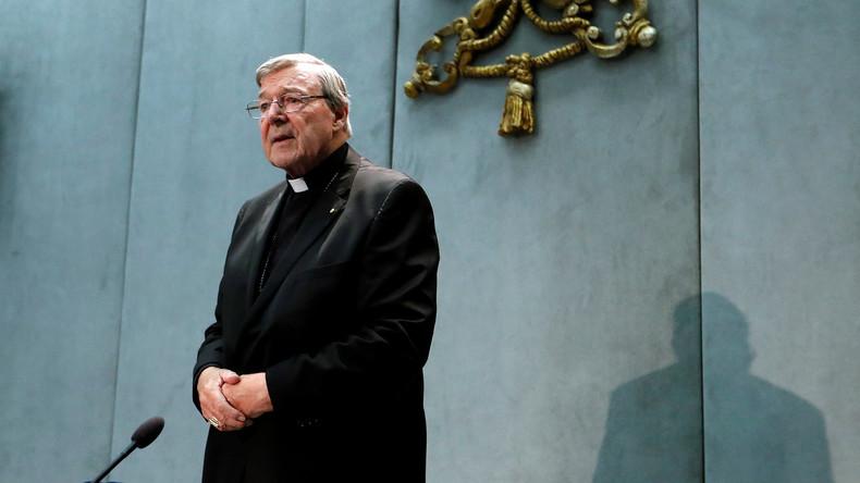 Minderjährige missbraucht: Ehemaliger Vatikan-Finanzchef Pell zu sechs Jahren Haft verurteilt