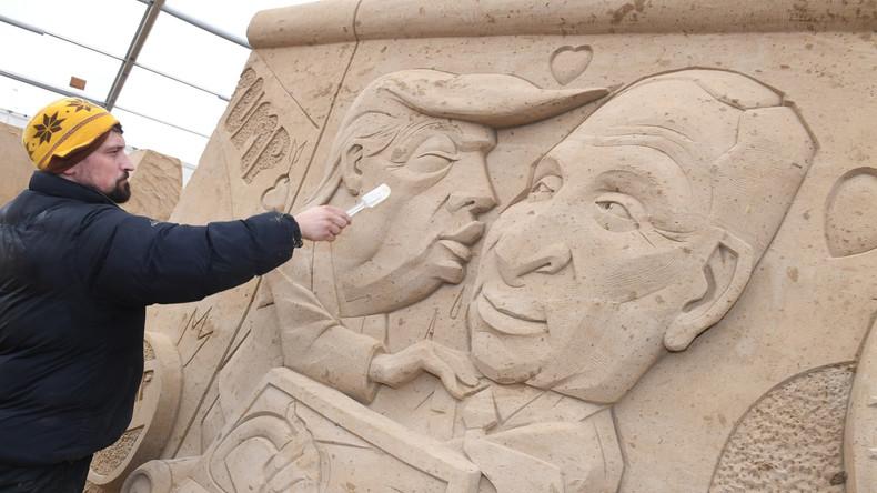 Internationaler Sandskulptur-Wettbewerb auf Rügen
