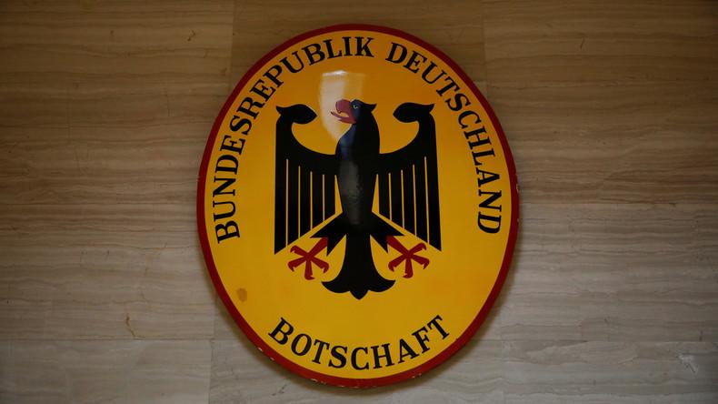 Deutschland reduziert Personal der Botschaft in Venezuela