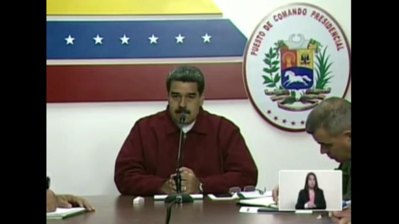 Maduro: Wir haben Beweise, dass USA für Cyberangriffe auf unser Stromnetz verantwortlich sind