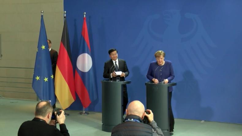 """Merkel warnt vor """"schwindenden Optionen"""" für einen geordneten Brexit"""