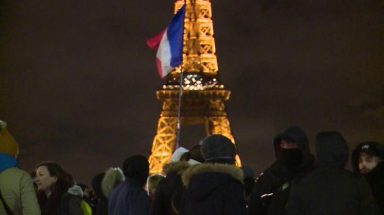 Frankreich: Demonstration in Paris prangert Selbstmordrate bei Polizisten an