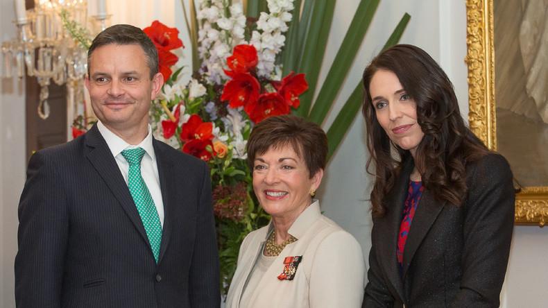 Neuseeländischer Klimaschutz-Minister angegriffen – blaues Auge