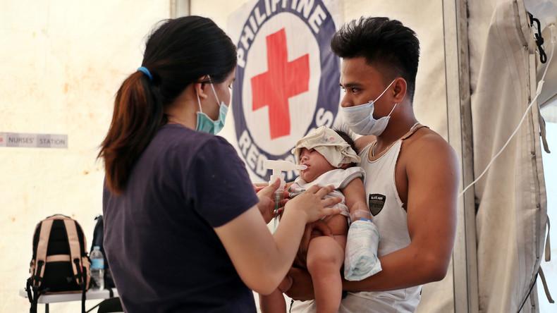 Masernausbruch auf Philippinen tötet in zwei Monaten 286 Menschen