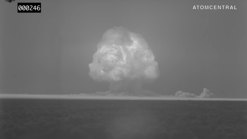 Explosion in HD: Erstes Atombomben-Video neu aufgearbeitet