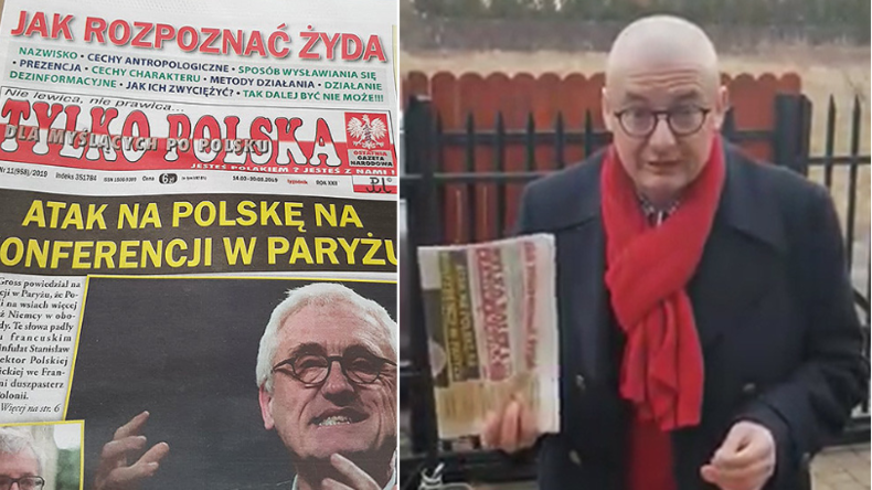 """""""Wie man einen Juden erkennt"""": Polnische Zeitung schockt mit antisemitischem Aufmacher"""