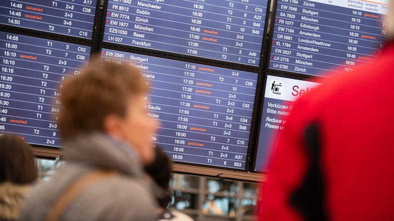 Tausende Passagiere von Warnstreik am Hamburger Flughafen betroffen