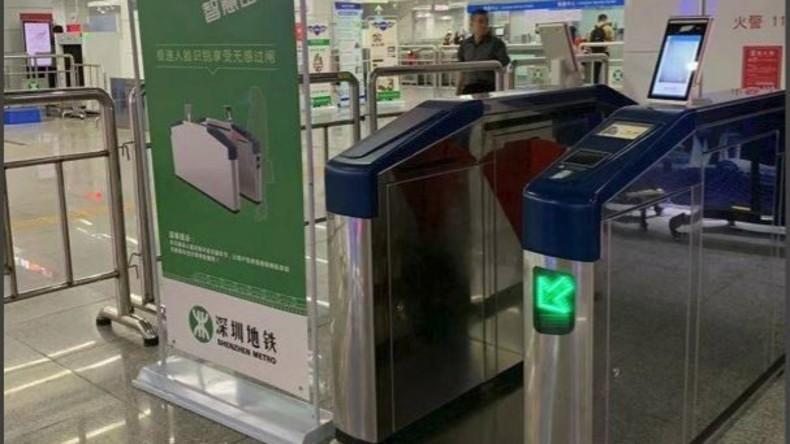 Chinesische Stadt testet Gesichtserkennungssystem zur Bezahlung von U-Bahn-Fahrten