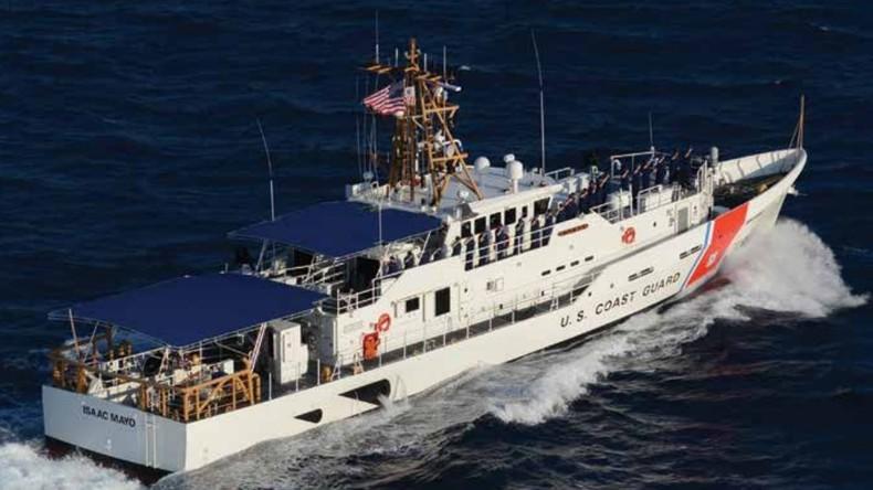 """Pentagon """"unterstützt"""" Ukraine mit zwei weiteren ausgemusterten Patrouillenbooten ohne Bewaffnung"""