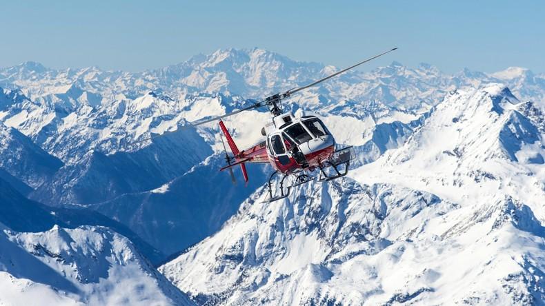 Aufnahmen wie im Actionfilm: Vermisster Hund in den Bergen mit Helikopter gerettet