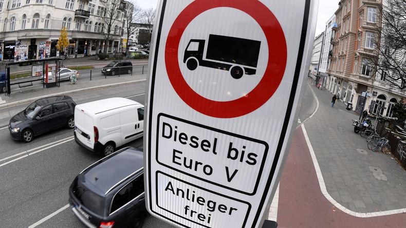Bundestag beschließt Ausnahmen für Diesel-Fahrverbote