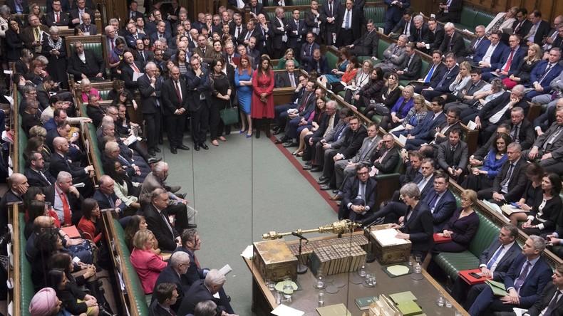 LIVE: Britisches Unterhaus stimmt über Verschiebung des Brexit ab