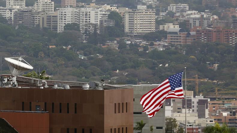 Restliches US-Botschafterpersonal hat Venezuela verlassen