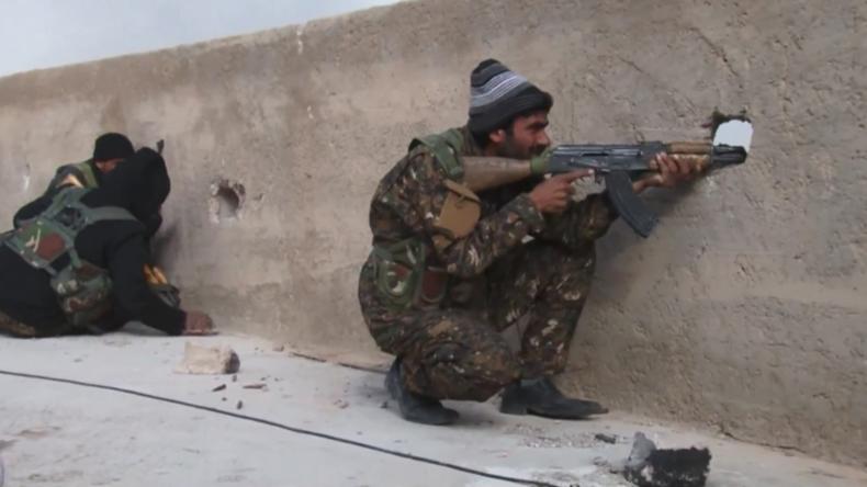 Syrien: Der letzte Kampf des IS tobt in der Nähe von al-Baghuz Fawqani