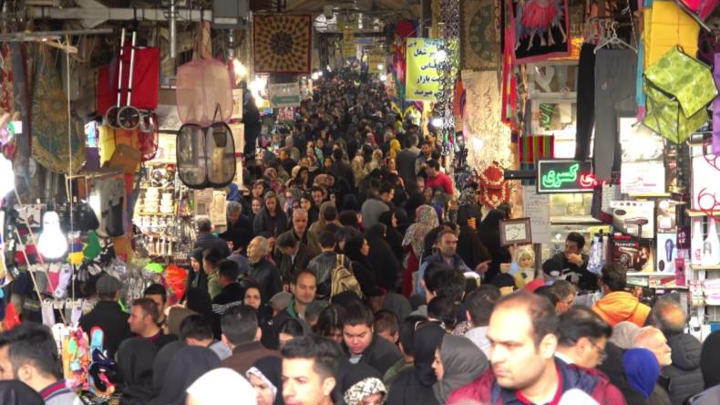 Iran: Verbraucher drücken vor dem persischen Neujahrstag ihre Frustration über die Wirtschaft aus