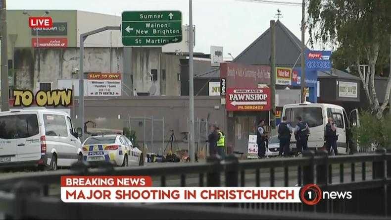 Mindestens 40 Tote bei Angriff auf Moscheen in Neuseeland – Australiens Premier spricht von Terror