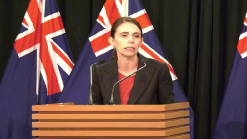 """Neuseeländische Premierministerin: """"Das war ein gut vorbereiteter Terroranschlag"""""""