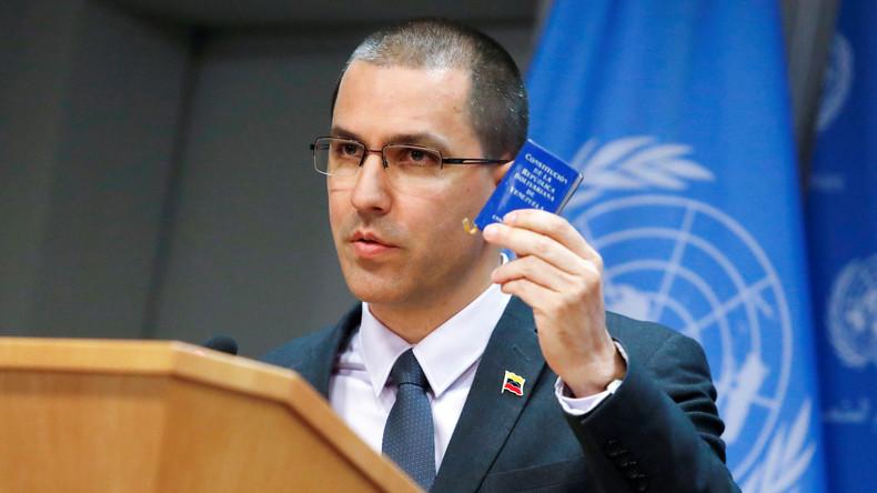 Außenminister Venezuelas spricht zu UN-Konvention – US-Diplomaten und Verbündete verlassen den Saal