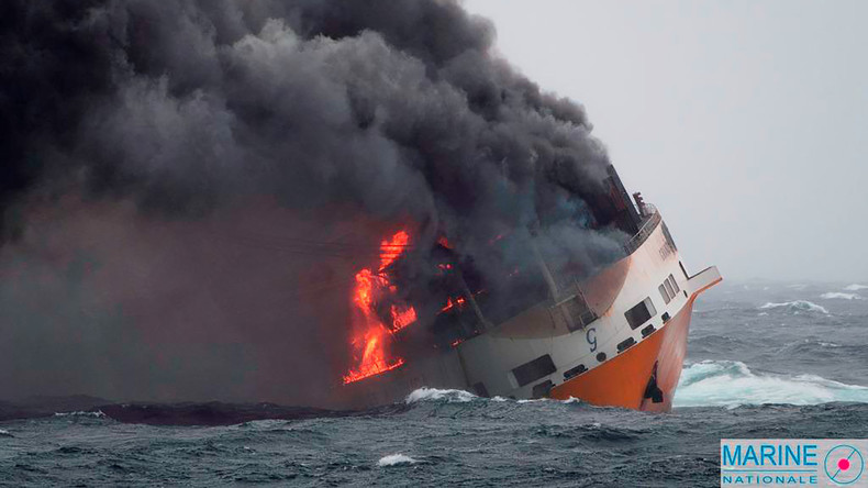 "Untergang des Containerschiffs ""Grande America"": Frankreichs Atlantikküste droht Ölverschmutzung"
