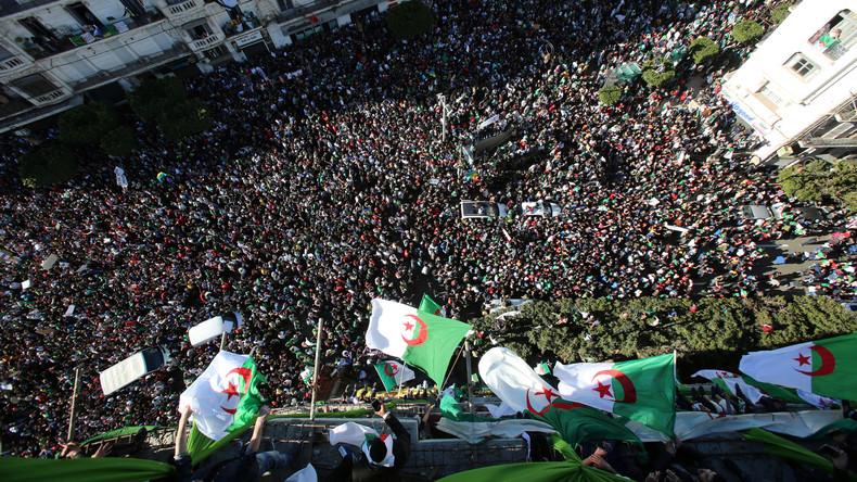 Wieder Massenproteste in Algerien gegen Präsident Abdelaziz Bouteflika