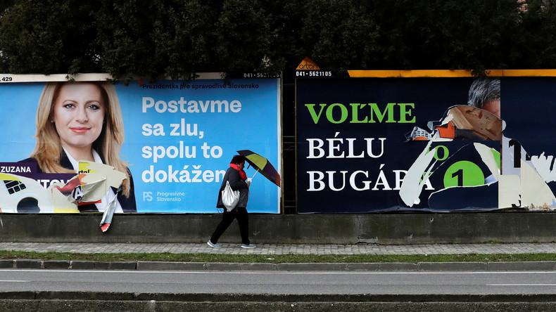 Präsidentenwahl in der Slowakei angelaufen