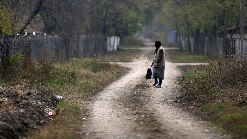 Weltrekord im Straßenbau: Einwohner von Rumänien weihen 1-Meter-Autobahn ein
