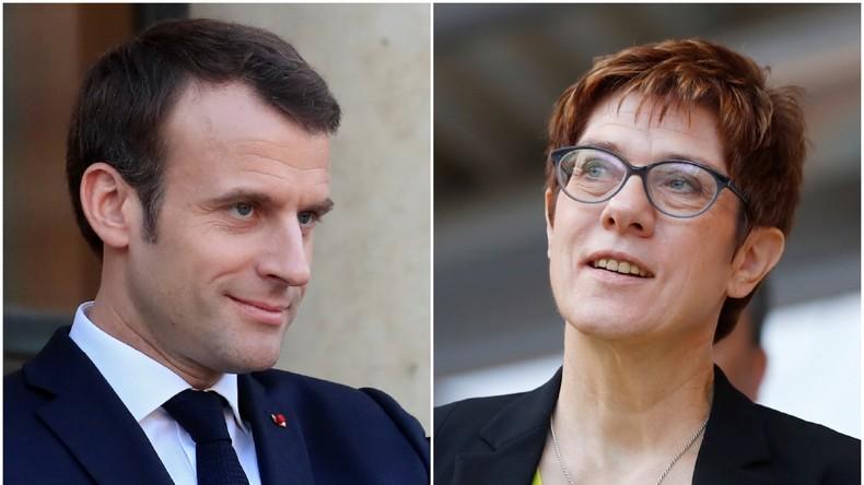 Das Paar des Jahres: Macron und AKK
