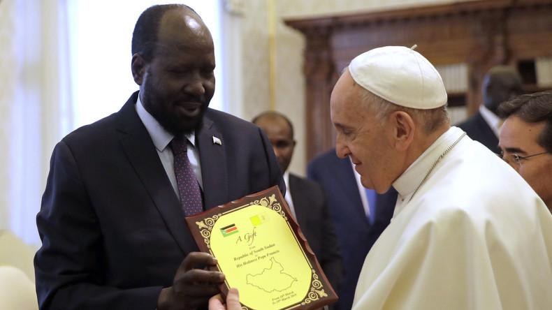 Papst Franziskus hofft weiter auf Besuch im Südsudan