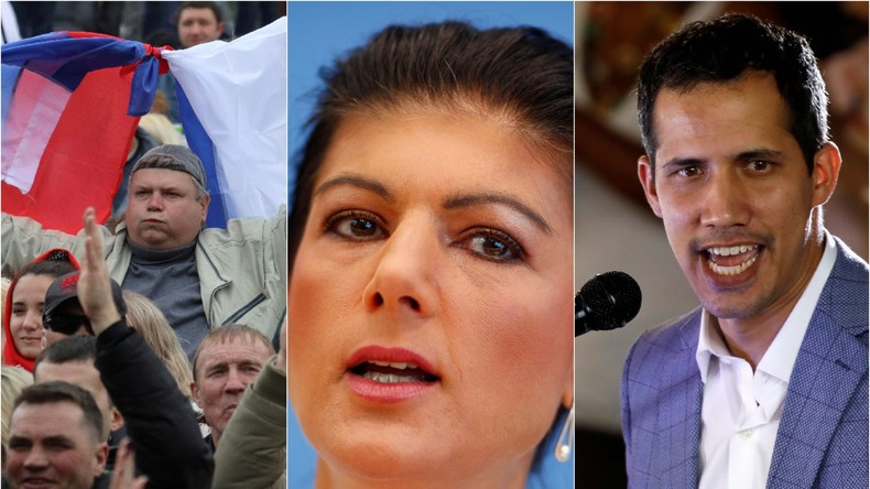 Krim-Beitritt, Sahra Wagenknecht, Venezuela: Ein Wochenrückblick auf den medialen Abgrund