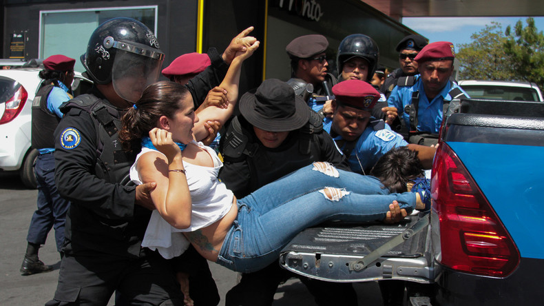 Dutzende Festnahmen bei Demonstration gegen Nicaraguas Regierung