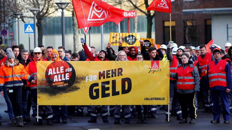 Einigung in Stahlbranche: 3,7 Prozent mehr Geld für Beschäftigte