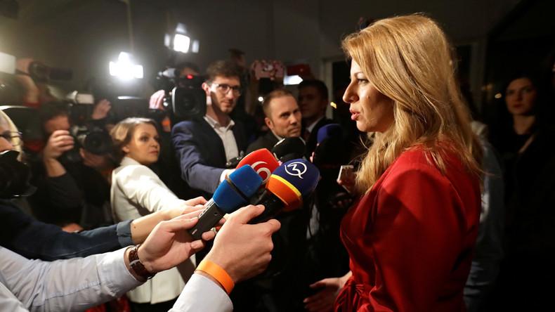 """""""Ruf nach Veränderung"""" bei slowakischer Präsidentenwahl"""