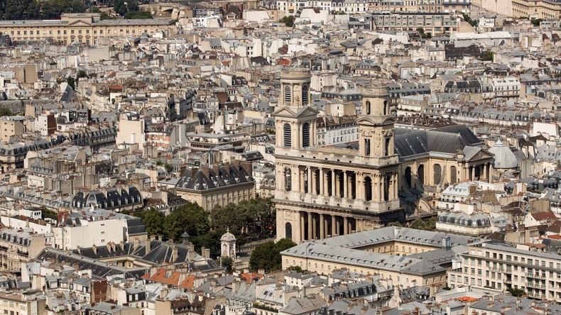 Brand in Pariser Kirche: Feuer beschädigt Haupteingang von Saint-Sulpice