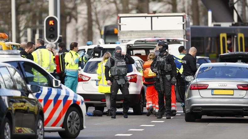 Anti-Terror-Einsatz nach tödlicher Attacke in Utrecht